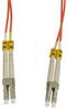 1m LC-LC Duplex Multimode 62.5/125 Fiber Optic Cable (3.28ft) -- 60LC-LC01 - Image