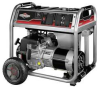 Portable Generator,6000 Rated Watts -- 6EDX5