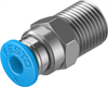 QS-1/8-4-100 Push-in fitting -- 130674-Image