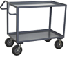 2 Shelf 1200 lb Capacity Vibration Reduction Service Cart -- Model LR - Image