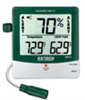 445815 - Extech 445815 Big Digit Thermohygrometer with Dew Point Point, Alarm and Remote Probe -- GO-37803-26