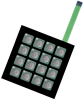 Keypad Switches -- 360-2296-ND - Image