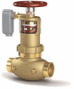 "ZW5004ILCAP - 2-1/2"" Pressure-Tru® Field Adjustable Pressure Reducing Floor Control Valve (Inline Body, FNPT, with capped bonnet-no handwheel assembly) -- View Larger Image"