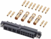 12+4 Pos. Female 24-28AWG+12AWG Cable Conn. Kit, Jackscrews -- M80-4C11205F1-04-325-00-000 - Image