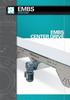 Center Drive Mat Top Conveyor, Stainless Steel -- Model EMBS