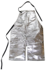 Chicago Protective Apparel Aluminized Carbon Kevlar Welding & Heat-Resistant Apron - 24 in Width - 48 in Length - 550-ACK-48-SW -- 550-ACK-48-SW - Image