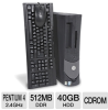 Dell OptiPlex GX270 Desktop Computer - Intel Pentium 4 2.4GH -- RB-GX270 2.4/512/40