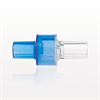 High Flow Check Valve, Blue Inlet, Clear Outlet -- 91045 -Image