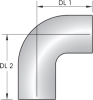 24A – 90º Special Long Tube Bend -Image
