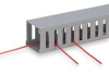 Wire Duct,Wide Slot,Gray,1.26 W x 3 D -- 3FVK9