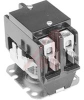 Contactor, Definite Purpose, Model 96, 40 A, 208/240 VAC, 2 Pole, with Arc Cover -- 70198916 - Image