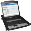 NetDirector 16-Port 1U Rack-Mount Console IP KVM Switch with 19 in. LCD -- B020-U16-19-IP