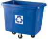 RUBBERMAID 16-Cube Mobile Recycling Container -- 4510900