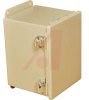 ENCLOSURE;NEMA 12;HINGED COVER;SCREW CLAMP;J BOX;8.00X6.00X6.00;STEEL;GRAY -- 70066824