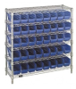 Bins & Systems - 4'' Shelf Bins (QSB Series) - Complete Bin Center - WR6-36-1236-101 - Image