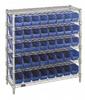 Bins & Systems - 4'' Shelf Bins (QSB Series) - Complete Bin Center - WR6-36-1236-101 - Image