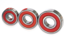 Single Row Deep Groove Ball Bearings With Snap Ring/ Snap Ring -- 6312N
