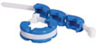 SaniSure Clamp, disposable, 1-1/2 standard clamp connection size -- GO-30562-22