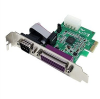 StarTech.com 1S1P Native PCI Express Parallel Serial Combo C -- PEX1S1P952