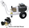 Electric PressureWasher 3,500psi at 8.0gpm 20hp 230V-3ph -- HF-B8035E3G100