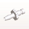 Bayonet Male Connector, Barbed, White -- BC430 -Image