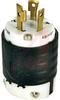 Plug, Turnlok 3 Wire Ground, IP20, 30A,125V, NEMA Config:L5-30P -- 70050638