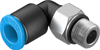 QSML-M7-6 Push-in L-fitting -- 186353-Image