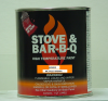 Architectural Coating Stove Bright 6159 Metallic Brown Brush-on -- 62M059