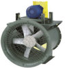 Vaneaxial Fan, Axial