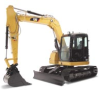 Mini Excavators -- 308D CR-Image