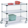 Galvanized Shelf Utility Cart -- T9H188883