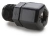 Parker Male Connector Tube to MPT Compression Fitting -- 60417 - Image