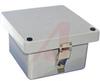 ENCLOSURE;FIBERGLASS REINFORCED PLASTIC;NEMA;STAIN STEEL LATCH;7.75HX7.75WX4.80D -- 70147919