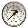 Lead Free* Center Back-Entry Pressure Gauge -- LFDPG-3