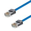 Category 6 Slim Ethernet Patch Cable, Unshielded, Dual Rated CM-LSZH, Blue, 10.0Ft -- TRD628LS-BLU-10 -Image