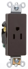 Duplex/Single Receptacle -- 26261 -- View Larger Image