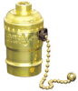 Pull Chain Incandescent Lampholder -- 7092