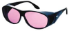 Laser Glasses,Light Magenta,Uncoated -- 3NTV9 - Image