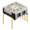 DIP Switches -- A6K-104RF-ND