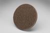 3M Scotch-Brite XL-UR Unitized Aluminum Oxide Medium Deburring Wheel - Coarse Grade - Quick Change Attachment - 3 in Diameter - 17195 -- 048011-17195 - Image