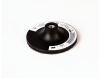 3M 14114 Hard Black Disc Pad - 4 1/2 in DIA - 1/8 in Thick - Internal Thread Attachment -- 048011-14114 -- View Larger Image