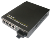 4 Port 10/100Base-Tx And 1 Port 100Base-Fx Ethernet Switch -- View Larger Image
