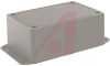 Enclosu,Desktop;Instrument;ABS;4.6x3.1x1.77 in.;Mounting Flange;General Use;Gray -- 70196780
