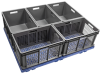 Straight Wall Containers Mesh Side & Base -- 37616