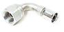 Industrial Hydraulic Crimp Fitting – 91N Series Female BSP Swivel 90D Elbow -- 1B291N-12-12