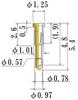 Small Size Socket Pin -- NS55-GG -Image