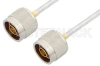 N Male to N Male Cable 6 Inch Length Using PE-SR402FL Coax, RoHS -- PE3472LF-6 -- View Larger Image