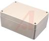 WATERTIGHT ABS PLASTIC ENCLOSURE, LT GRAY W/ LT. GRAY LID, 4.92 X 3.35 X 2.17 -- 70165340