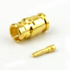 SMP Female Connector Solder Attachment For RG405, RG405 Tinned, .086 SR Cable