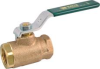 CONVENTIONAL PORT BRONZE BALL VALVE THREADED 2 IN -- 251026